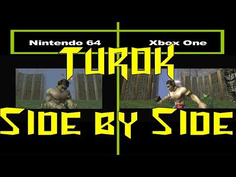 Turok Side by Side:  N64 vs. Xbox One