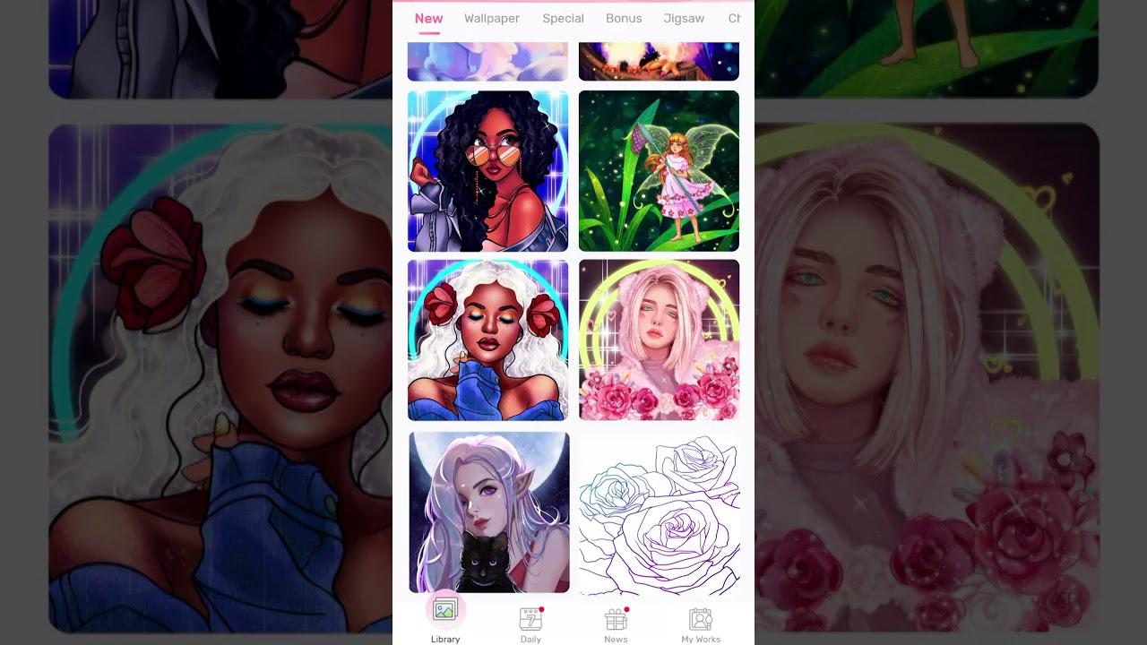 Happy Paint |Coloring Book App | Offline | Free Images ...