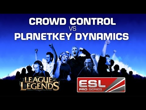 Planetkey Dynamics vs. crowd control - Group A - EPS Germany Summer 2014 - League of Legends