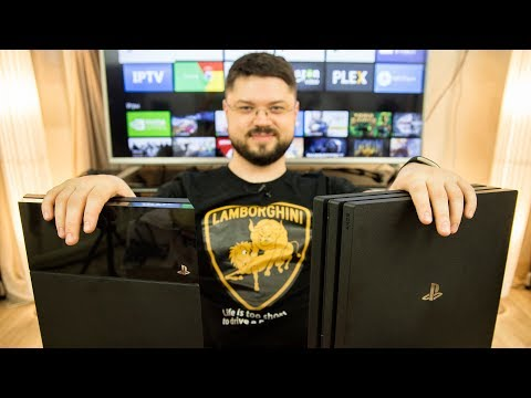 PlayStation 4 Pro | Обзор | Сравнение со стандартной PlayStation 4 на 4K и 1080p телевизоре