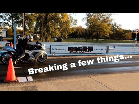 Motorcycle Drag Racing at Twin City