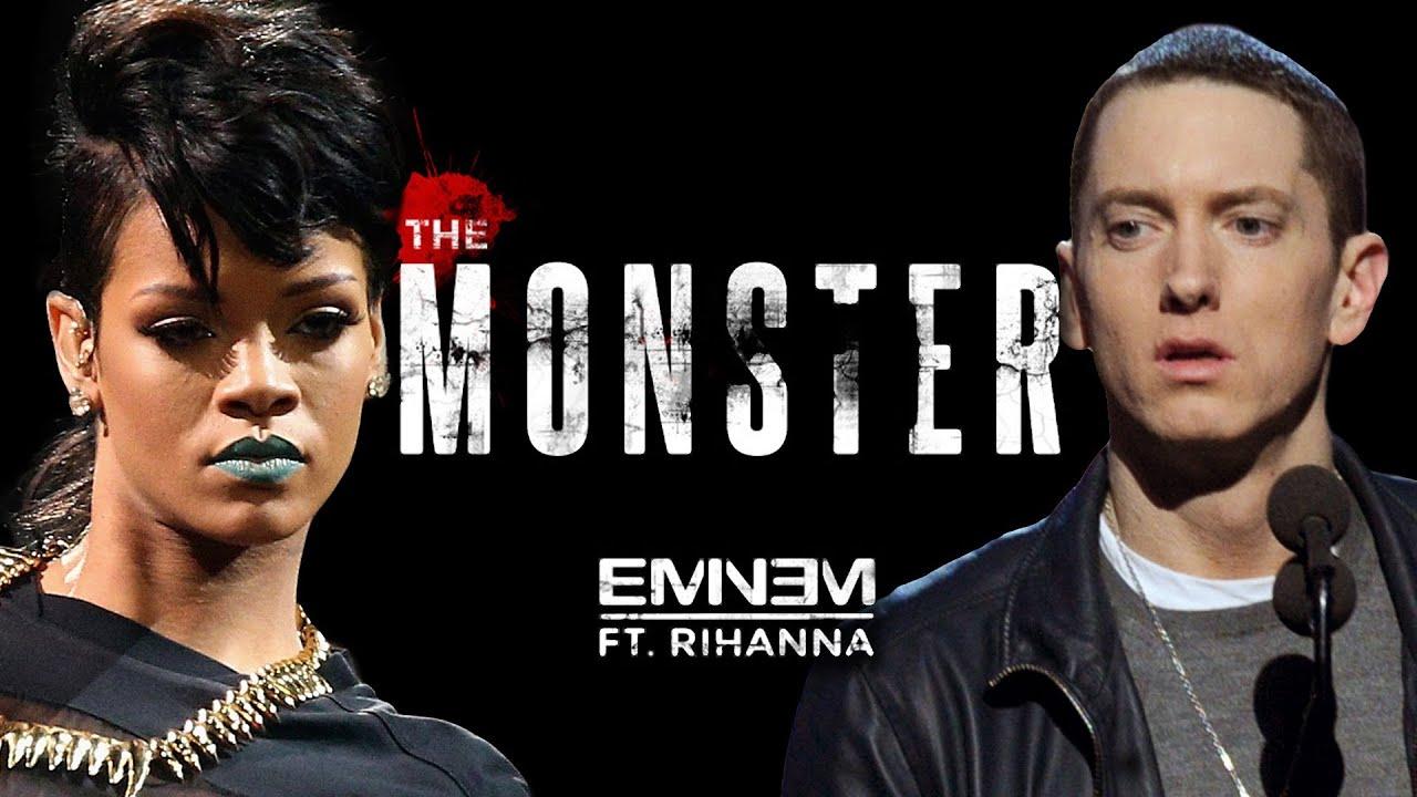 скачать песню eminem rihanna monster