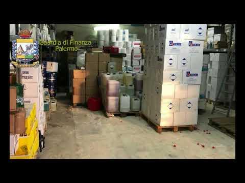Palermo, operazione oli box della guardia di finanza