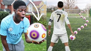 Most OVERPOWERED FOOTBALL EVER!! Shoot LIKE RONALDO!