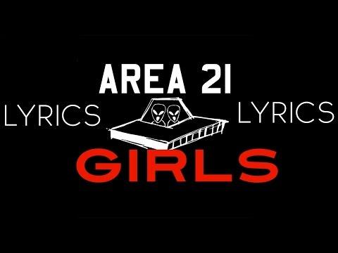 AREA 21 - Girls (Lyrics Video)
