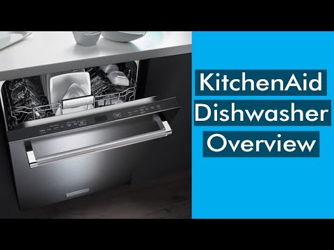 KitchenAid KDTE234GPS Dishwasher Overview