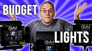 BUDGET LED Panel Lights - GVM 1000-D 3-Light Kit