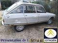 présentation de la Citroën Ami 8 de 1971