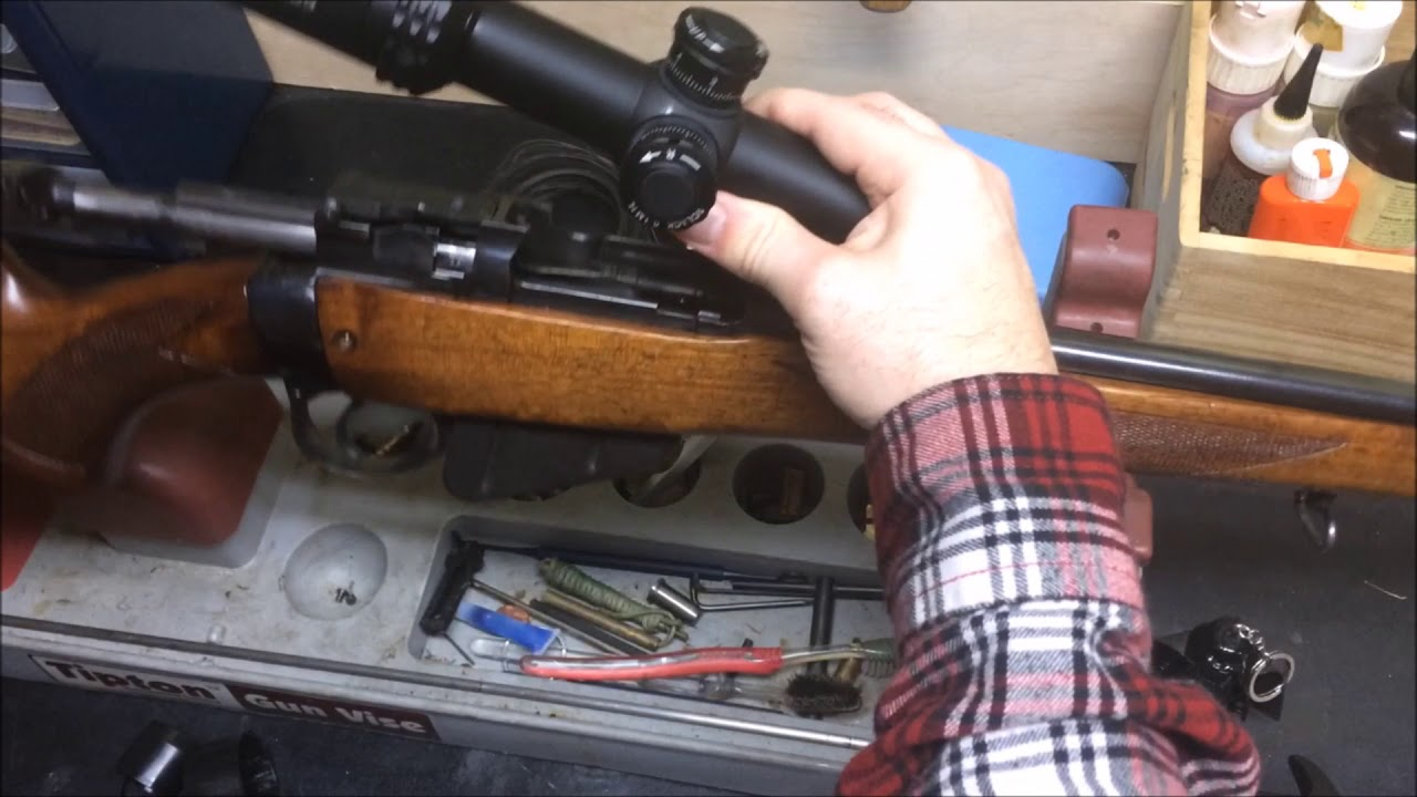Parker Hale Rings and Scope Mounts for the No 4 Rifle - Lee Enfield