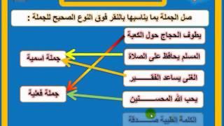 شرح الجملة الاسمية والجملة الفعلية بالتدريب واللعب Youtube