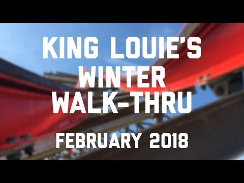 King Louie's Winter Walk Thru: Full Experience & New Attractions