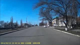 Берислав выезд с города март 2014(, 2014-03-14T15:54:32.000Z)