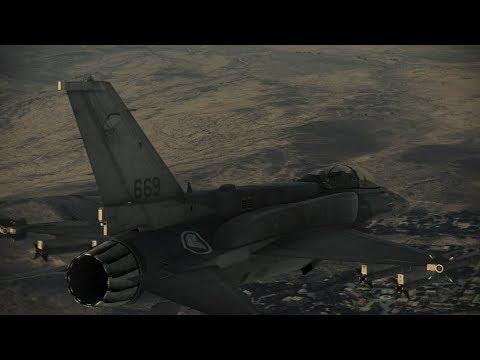 [ACAH PC MOD] ASEAN F-16D RSAF (Republic of Singapore Air Force) Gameplay