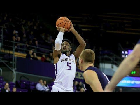 Men's Basketball: Washington tops Belmont in last-minute thriller