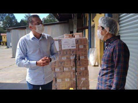 Yamá faz doação de Álcool em Gel para hospitais na cidade de Cotia/SP