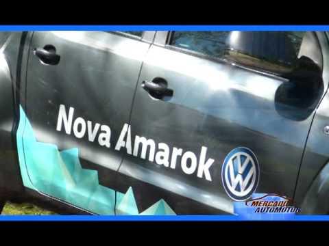 Vw Amarok V6.Test Drive Arawak-Burgwagen