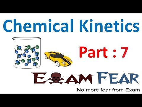 Chemistry Chemical Kinetics part 7 (Order of reaction) CBSE class 12 XII
