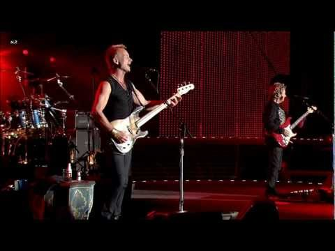 The Police - Roxanne 2008 Live Video HD
