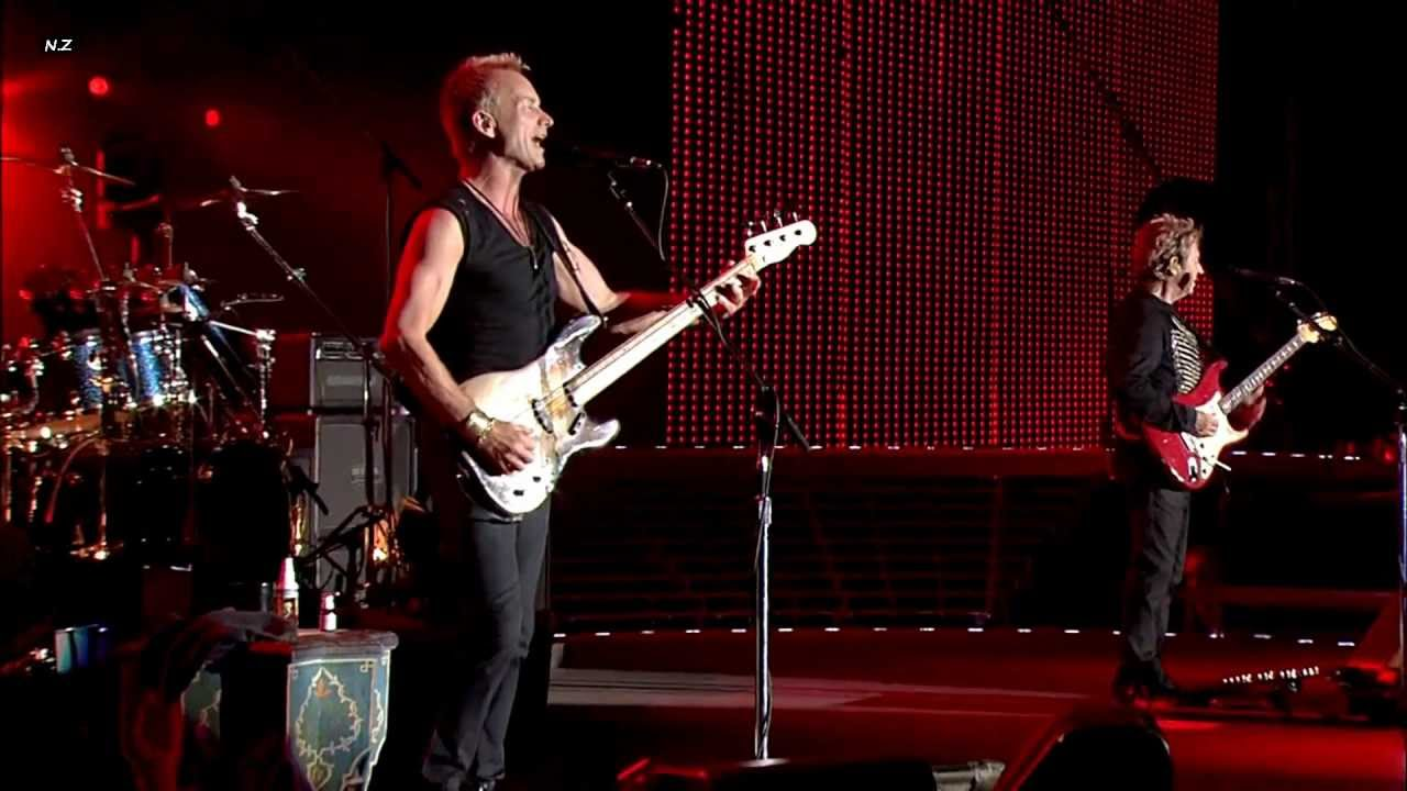 Resultado de imagen de The Police - Live @ Tokyo Dome Japan 2008 | FULL CONCERT (HD) MUSIC LEGENDS