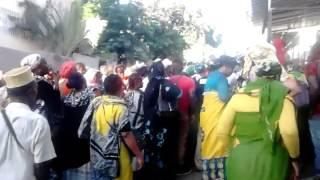 Bagarre à la préfecture de Mayotte bureau de des étrangers