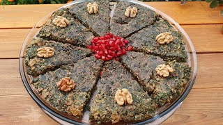 Kuku - Delicious  Appetizer | ASMR | Kükü Necə Hazırlanır | Egg recipes | Easy Breakfast İdeas