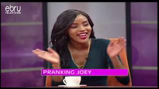 Stalker Alert: Joey Muthengi Pranked On Let's Talk