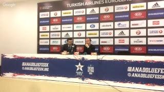 Anadolu Efes - AX Armani Exchange Olimpia Milan Basın Toplantısı