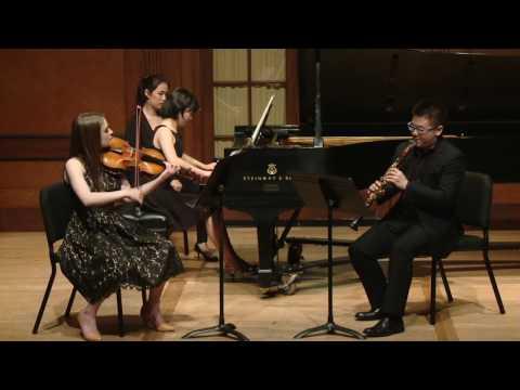 Mozart Clarinet Trio KV 498 (Kegelstatt)