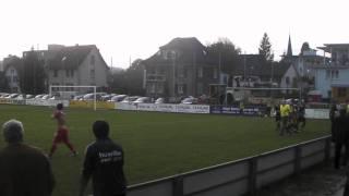 FC Bremgarten - FC Entfelden, 92. Minute: Berat schiesst das 3 zu 3