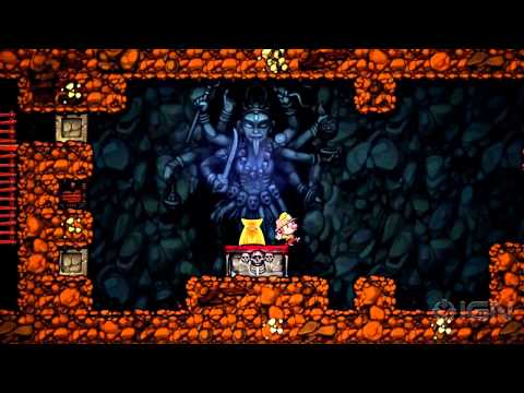 Spelunky PC Launch Trailer