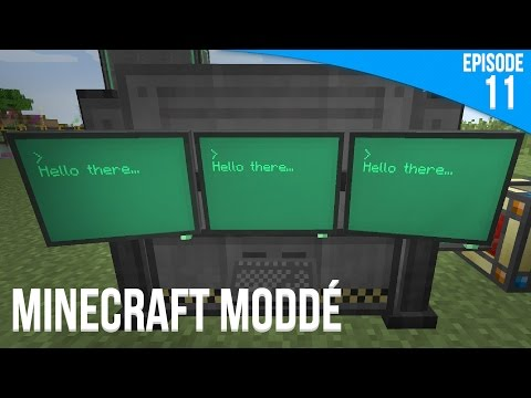 Minage électronique ! | Minecraft Moddé S3 | Episode 11