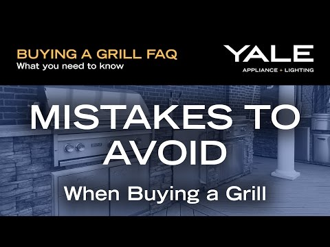 Common mistakes to avoid when buying a new BBQ Grill
