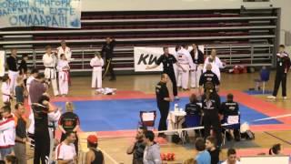 wku world championships heraklion crete 2013 finals karate kumite veterans 45 male 80kg