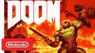 DOOM Launch Trailer - Nintendo Switch