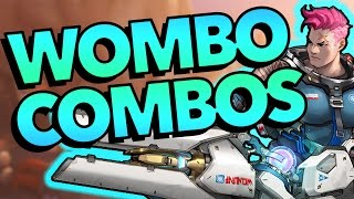 41 EPIC WOMBO COMBOS - Overwatch Highlights Montage