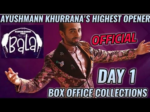 BALA BOX OFFICE COLLECTION DAY 1   INDIA   OFFICIAL   AYUSHMANN KHURRANA   HIT Mp3
