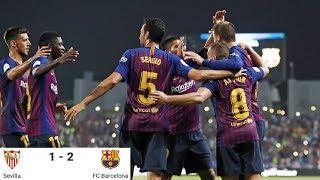 Season 2018/2019. Sevilla FC - FC Barcelona - 1:2