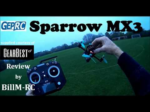 GepRC MX3 Sparrow (BNF) review - at the pinnacle of Micro FPV Racers