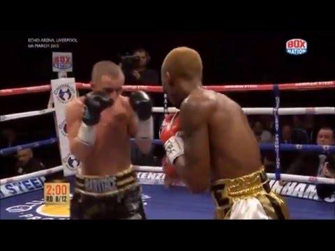 Zolani Tete stops Paul Butler