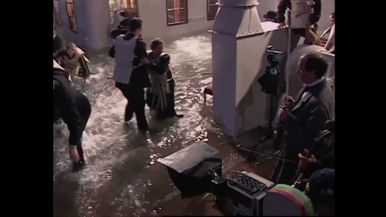 Titanic behind the scenes 2 youtube - Was the titanic filmed in a swimming pool ...