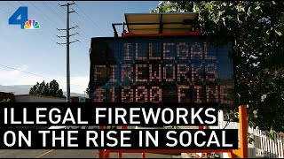Illegal Fireworks Reports Rise in SoCal | NBCLA