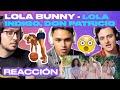 [Reacción] Lola Indigo, Don Patricio - Lola Bunny - ANYMAL LIVE