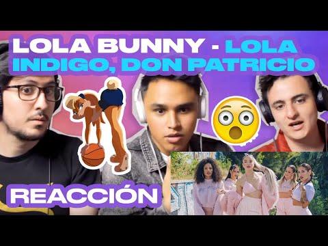 [Reacción] Lola Indigo, Don Patricio - Lola Bunny - ANYMAL LIVE 🔴