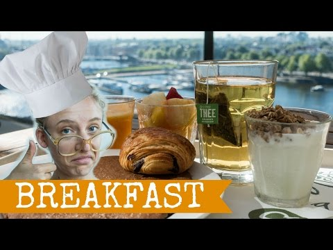 AMSTERDAM ON A BUDGET | The Cheapest Breakfasts | Travel to The Netherlands, Holland, 2016 Full HD