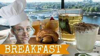 AMSTERDAM ON A BUDGET   The Cheapest Breakfasts   Travel to The Netherlands, Holland, 2016 Full HD
