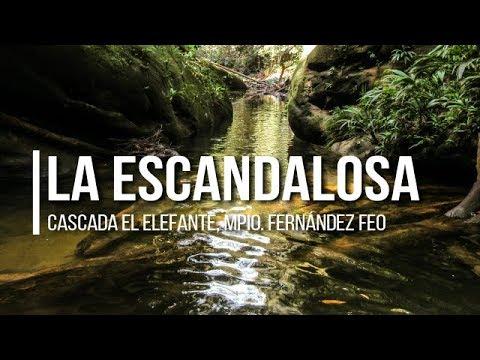 CASCADA EL ELEFANTE    Táchira, Venezuela