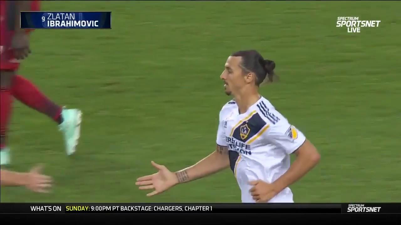Zlatan scores No. 500 on amazing flying kick
