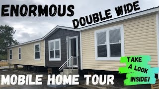 ENORMOUS Double Wide Mobile Home! 32x80 4 bed 3 bath by Hamilton Homebuilders | Mobile Home Tour