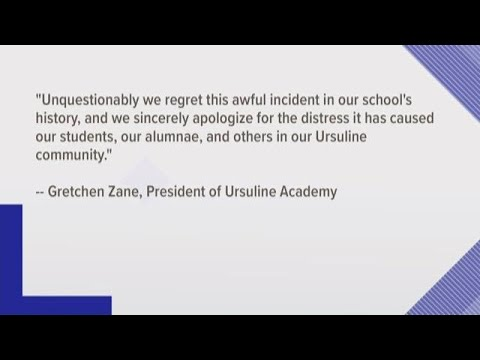 Ursuline Academy of Dallas apologizes for students pictured in 'Blueface' at 1979 fundraising event