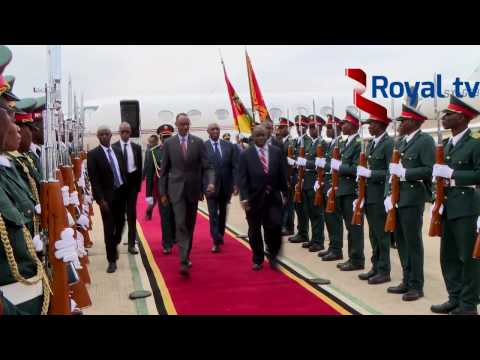 H.E Paul KAGAME visits MOZAMBIQUE by  Innocent  MUVUNYI-Day 1